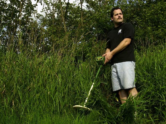 Steven Tarsia borrowed a metal detector in 2003 and found crucial evidence in the high grass at Grange Hall Park in Kirkwood where his older brother Broome County Sheriff Deputy Kevin Tarsia was slain.