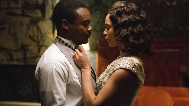 'Selma,' starring David Oyelowo as Martin Luther King Jr., and Carmen Ejogo as Coretta Scott King  is scooping up awards recognition.