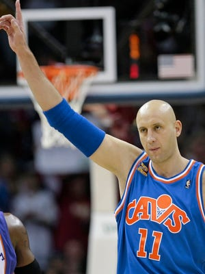 Ilgauskas, a gentle giant who connected with Cleveland fans and became one of the city's most beloved athletes, will have his No. 11 jersey retired/