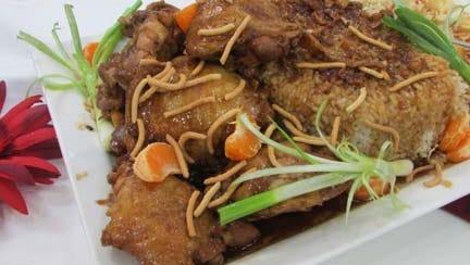 Chinese Carmel Chicken.