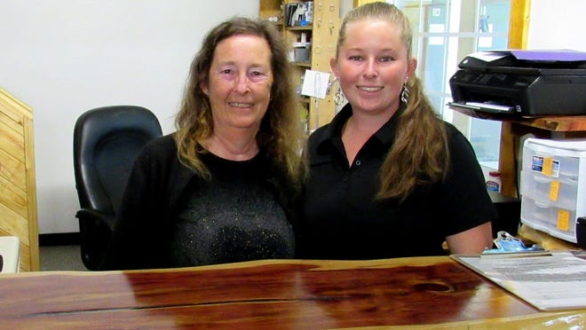 Bunnell Range co-owner Mary Beggelman and operations manager Naomi Beggelman greet visitors to the new facility that opened last week at 25 Opossum Road, on County Road 13, east of the Flagler County Fairgrounds.