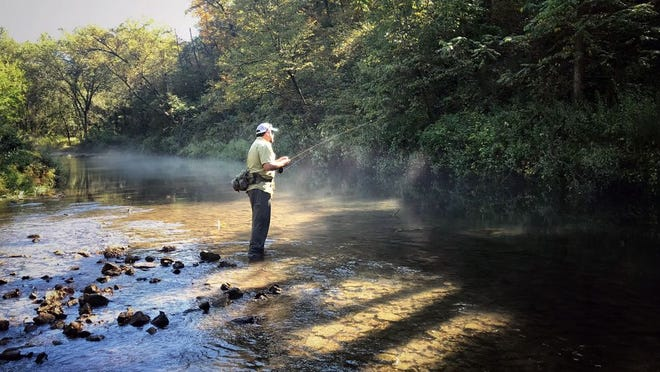 Early October is the time to fish the Driftless Region of Wisconsin.