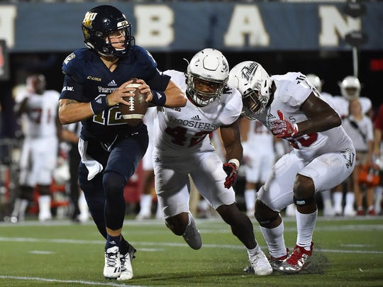 Indiana's defense harassed FIU into a number of errors in last week's opener.