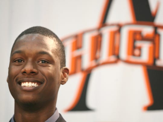Harrison Barnes led Ames to two state championships.
