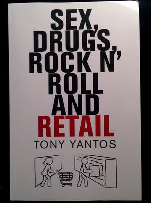 """Gilbert Walmart manager Tony Yantos's book, """"Sex, Drugs, Rock N' Roll and Retail,"""" is available through amazon.com."""