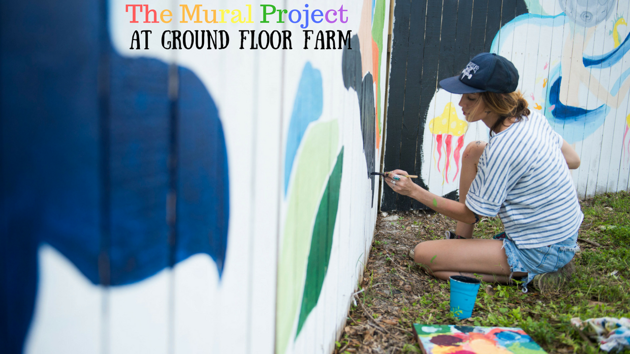 Over one month in October 2017, 16 artists transformed the building and fence surrounding Ground Floor Farm into Stuart's newest public art exhibit, The Mural Project at Ground Floor Farm.