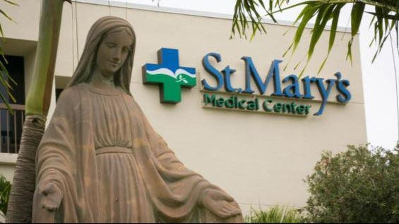 St. Mary's Medical Center in West Palm Beach.