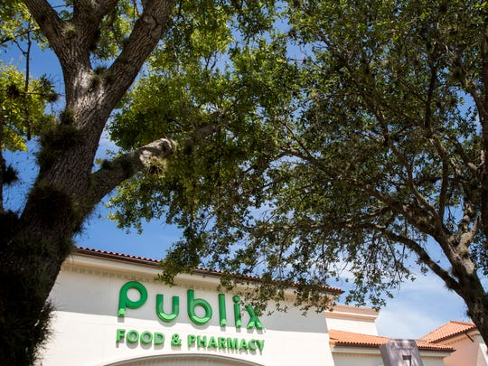 Publix Supermarkets had opened one Bonita Springs store as of 3 p.m. Monday.