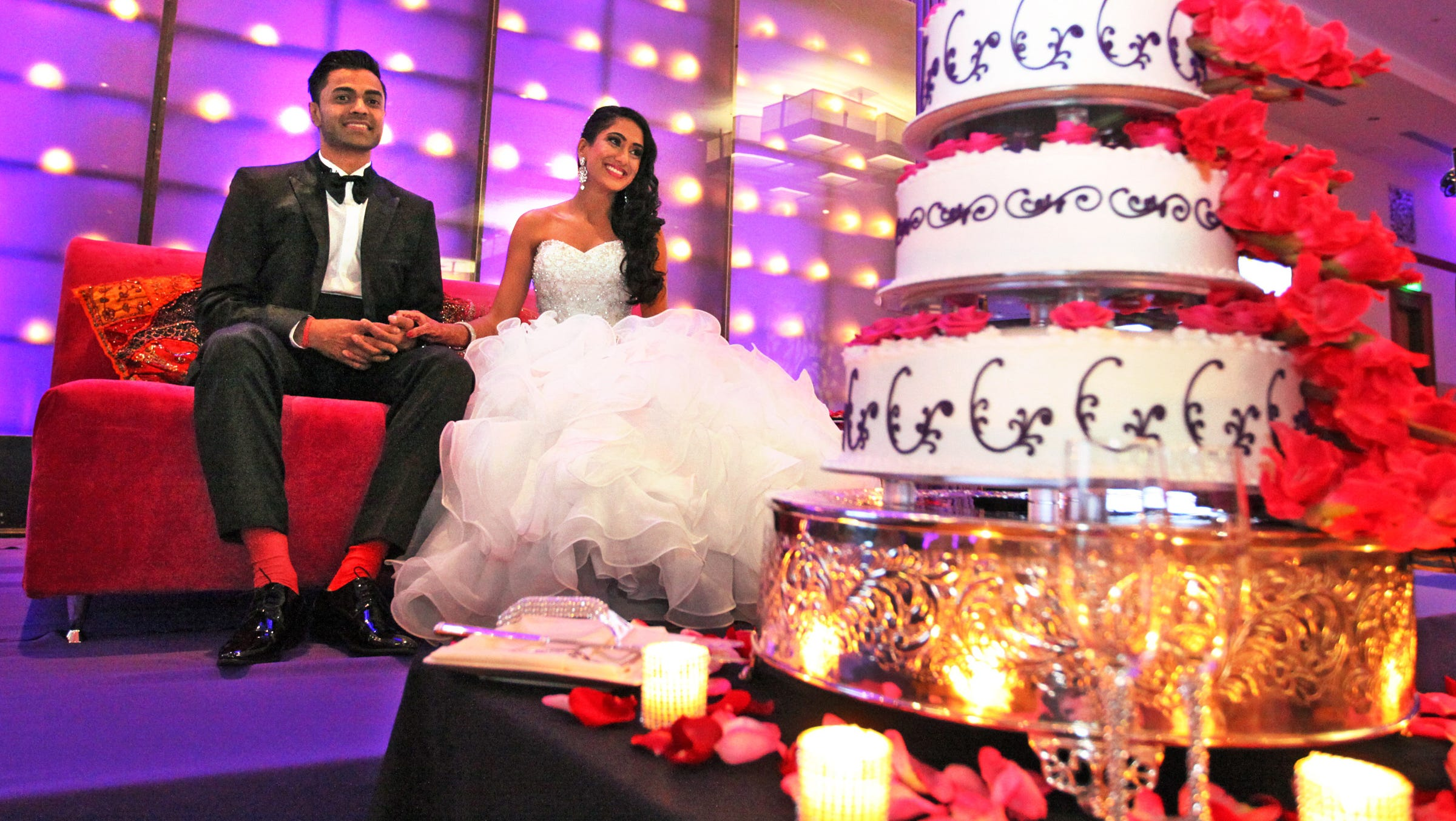 Indian Wedding Extravaganza Blends Cultures Old And New