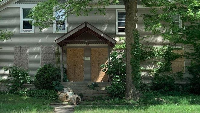 This vacant two-story, two-family home at 304 S. Second St. in Rockford's Haight Village neighborhood was recently sold by the Northern Illinois Land Bank Authority.