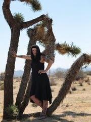 Johnette Napolitano in Joshua Tree, where she bequeathed