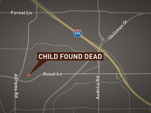 Child found dead