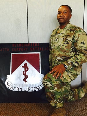 Command Sgt. Maj. Vincent E. McCormick is the new senior enlisted leader for the 47th Brigade Support Battalion.