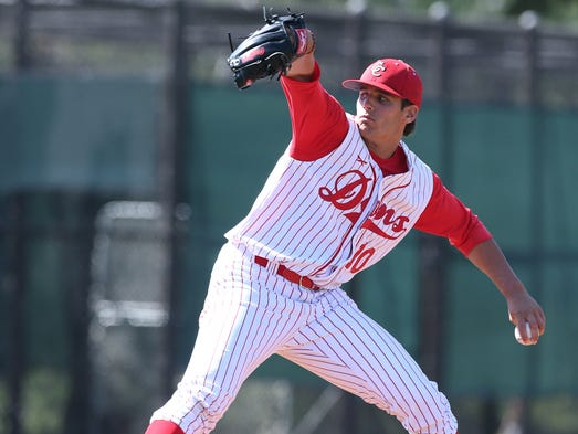 1. Astros: Brady Aiken, LHP, Cathedral Catholic HS, San Diego. Aiken, who stands 6-foot-3 and 210 pounds, has a fastball that can reach the high 90 mph range and averages in the low-to-mid 90s. The UCLA commit is also effective with his curveball and his changeup.