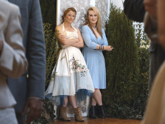 """Mamie Gummer and Meryl Streep appear in a scene from """"Ricki and the Flash."""""""