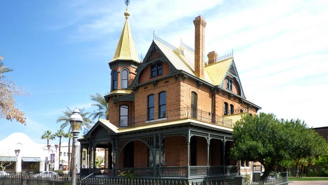 Rosson House, built in 1895 by Phoenix doctor and Mayor Roland Rosson in the elaborate brick Victorian style of the time.