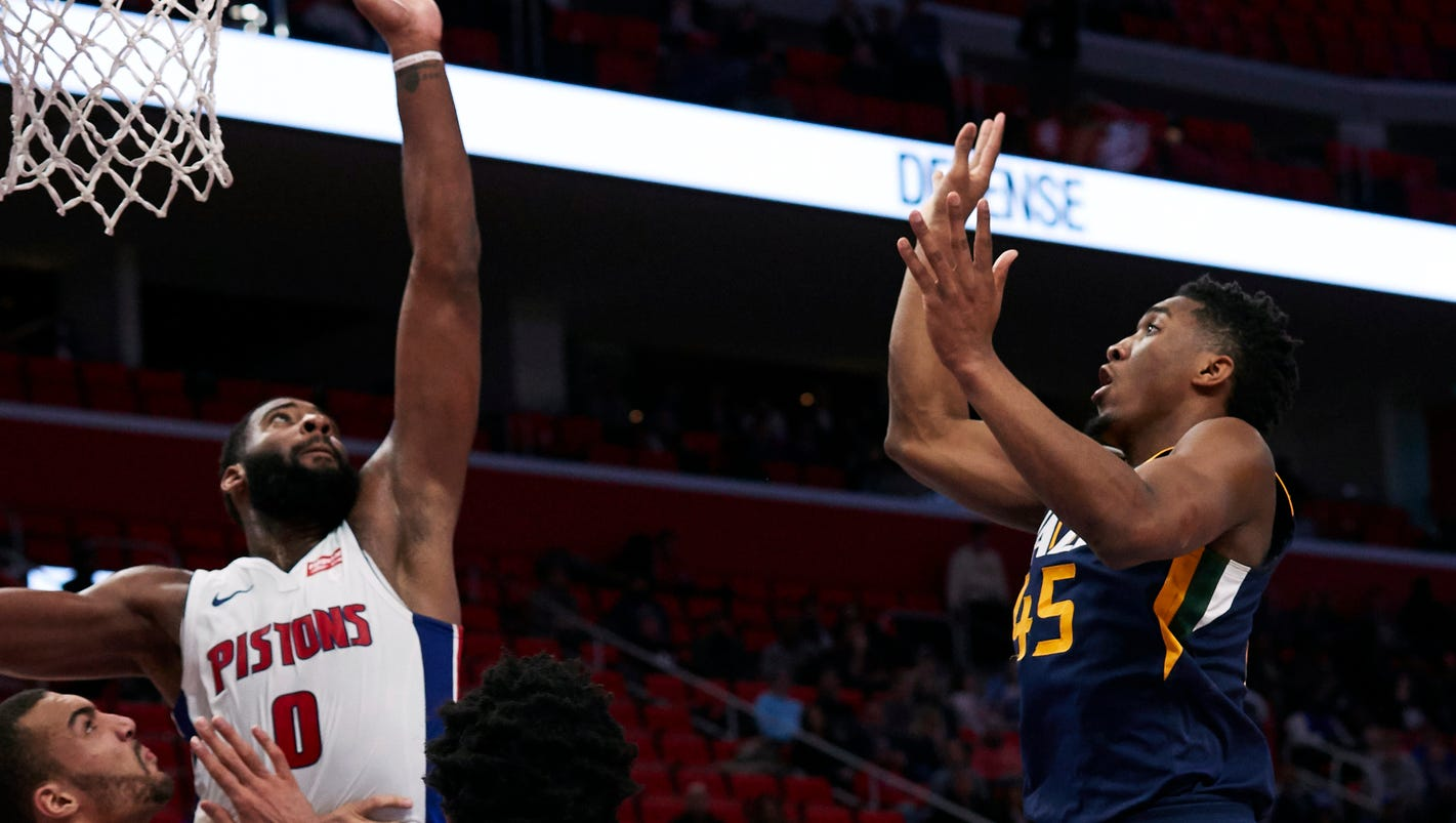 Utah Jazz vs. Detroit Pistons: Time, TV, radio info