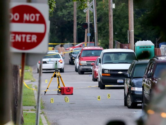 August 22, 2015. Madisonville, shooting, police, Liz Dufour