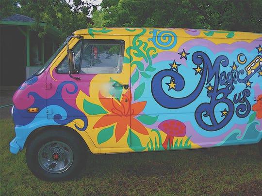 The Magic Bus band bus.