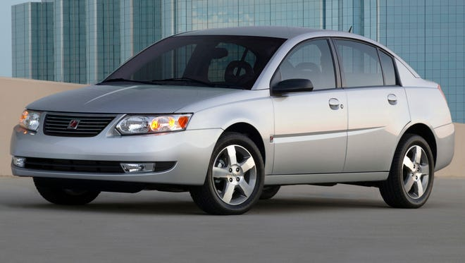 A 2006 Saturn Ion is one of the models added to the ignition switch recall.