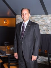 Rep. Chris Hagenow won the Iowa Restaurant Association's Legislator of the Year award.