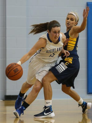 Highlands senior Haley Coffey is back after missing time with a concussion.