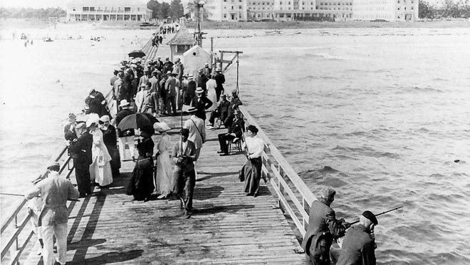 For most of its 30-plus-year existence, the 1,000-foot-long pier off The Breakers became a haven for anyone who loved to fish -- or watch others fishing.