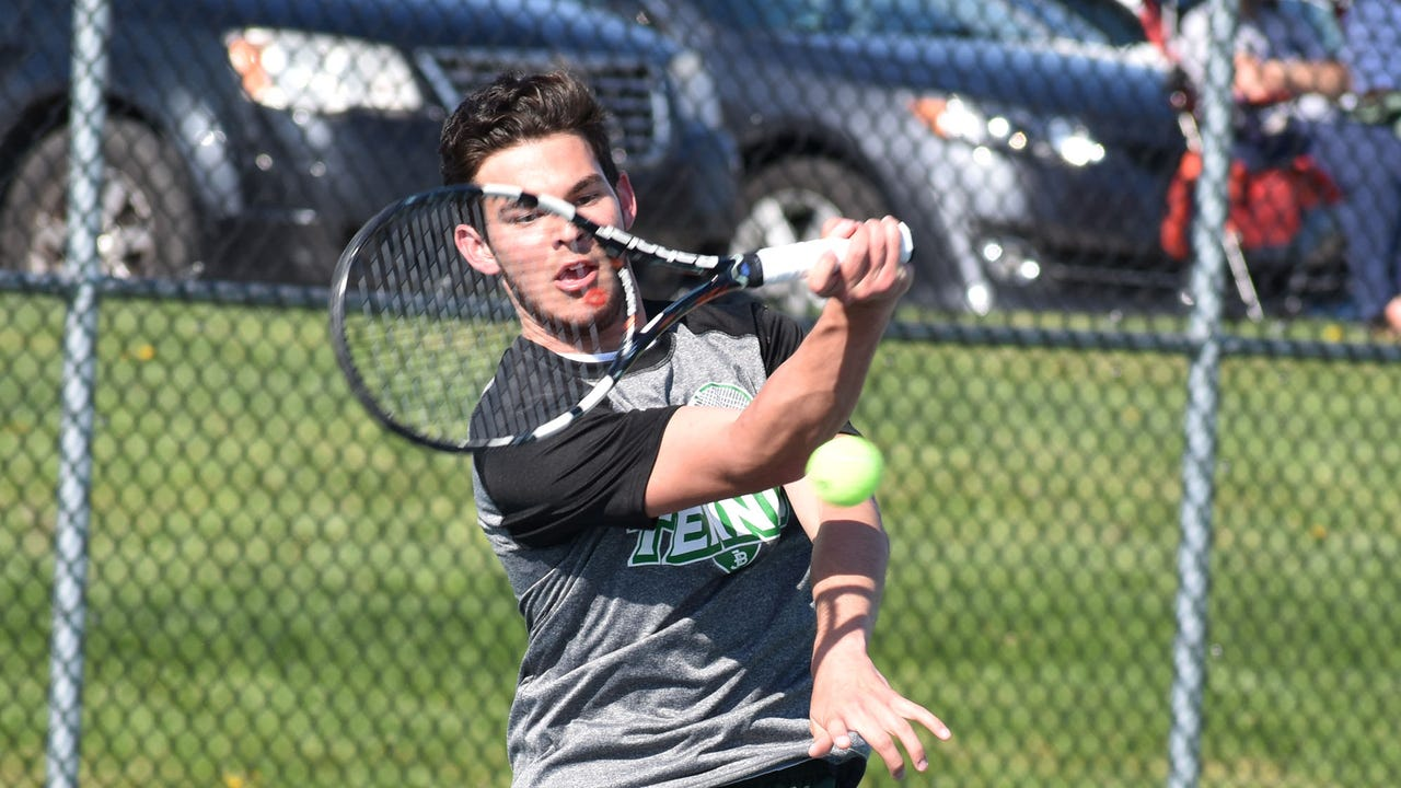 Check out the top plays from James Buchanan's Mid Penn Colonial Division match with Bishop McDevitt.