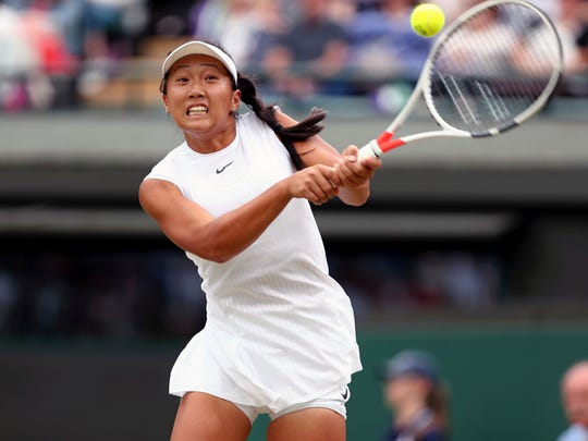 After a successful year on the tennis court, 17-year-old Claire Liu of Thousand Oaks decided to turn pro instead of go right to college.
