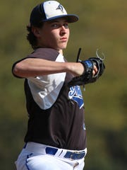 Middlesex at Metuchen baseball Middlesex pitcher #14 Kyle Nepton. Thursday Aprill 21, 2016