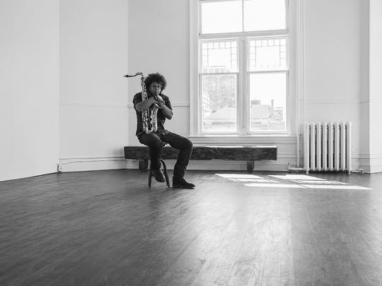 Jake Clemons: Alone in a room.