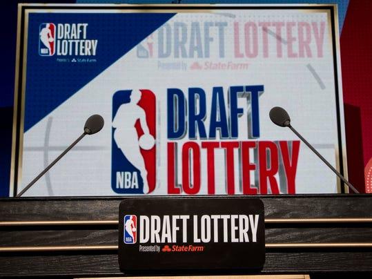 USP NBA: LOTTERY DRAFT S BKN USA IL