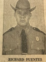 San Angelo Police Patrolman Richard Fuentes witnessed