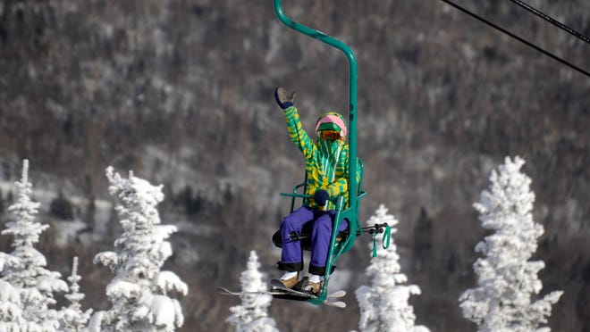 Many skiers at Mad River Glen are surprised to know that the iconic Single Chair is in fact the fastest fixed grip lift in North America. Traveling at more than 500 feet a minute, it gives skiers 2,036 feet of vertical in a nine-minute ride.