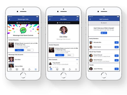 AP QUESTIONING FACEBOOKS APP FOR KIDS F FILE TEC A