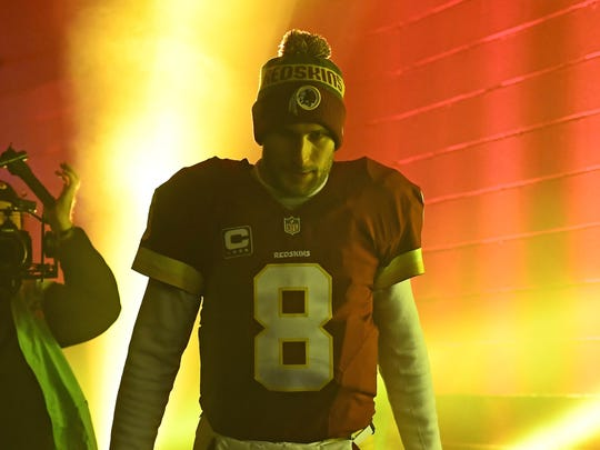 QB Kirk Cousins was drafted in the fourth round five
