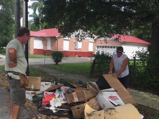 Hurricane Irma: Neighbors try to decide what to do