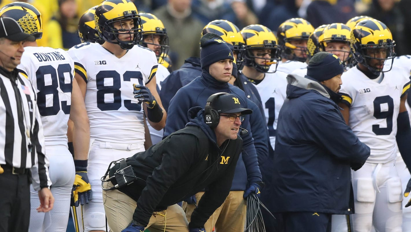 Jim Harbaugh's Michigan teams keep finding ways to lose big games