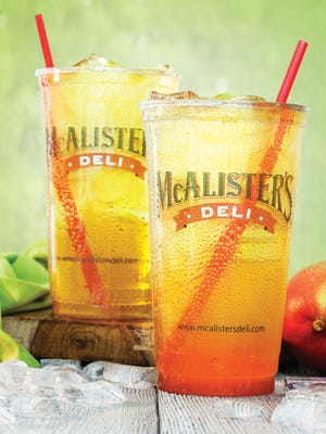 McAlister's Deli, known for its sweet tea, is opening at The Forum in Fort Myers Monday, Feb. 20 2017.