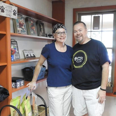 Cathy and Brad Fuller, of Coshocton, will open the