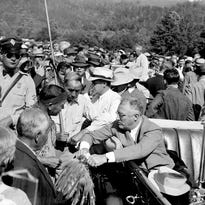 Portrait of the Past: FDR in Cherokee, 1936