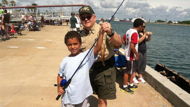 A free fishing clinic is set from 9 a.m. to noon April 9  at Vince J. Whibbs Sr. Community Maritime Park.