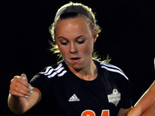 Central York's Madison Davis is an all-state defender.