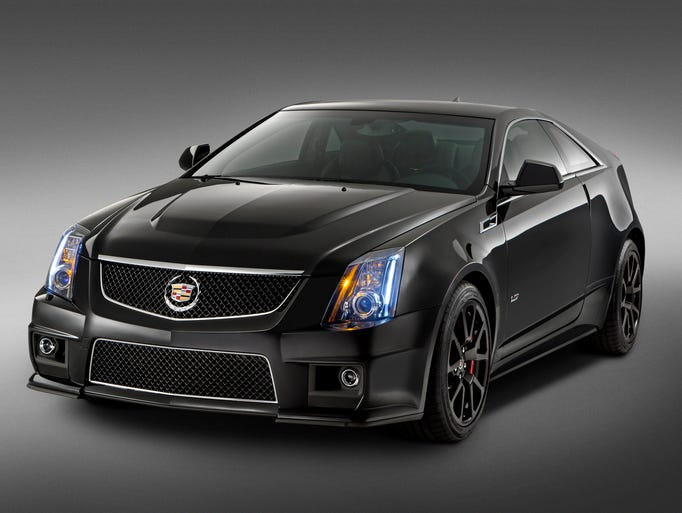 The 2015 Cadillac CTS-V coupe available later this year will be just 500 of the limited-edition cars shown here. A new generation of V-series is due next year.