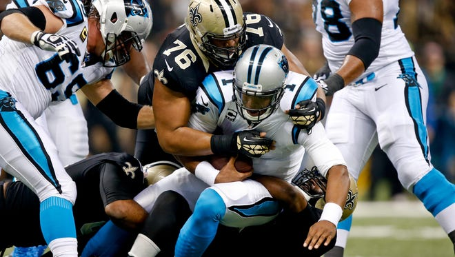 Will Panthers QB Cam Newton have enough support back in 2014 to hold off the Saints again in the NFC South?