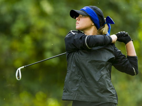 Columbus North's Holly Anderson