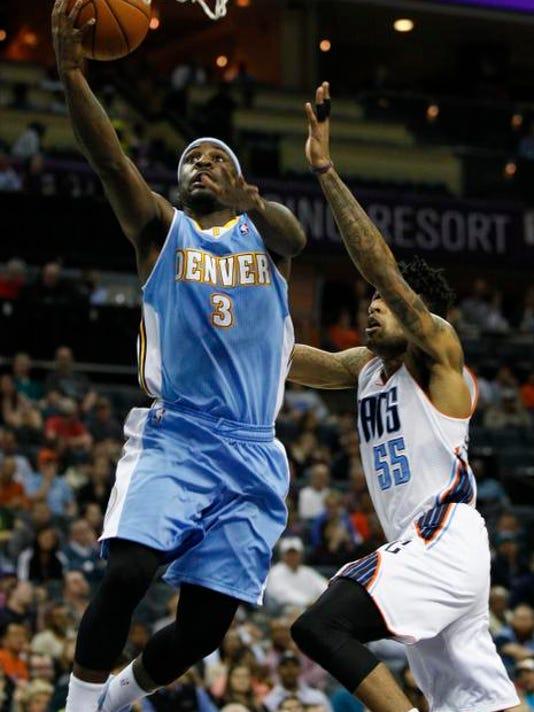 Nuggets Bobcats Basketball (2)
