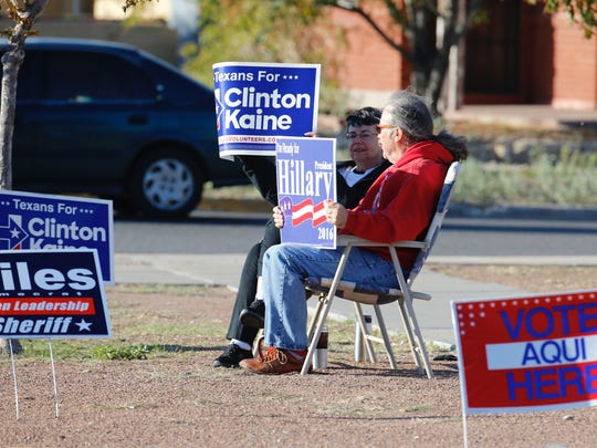 More than 200 people had voted at Mesita Elementary