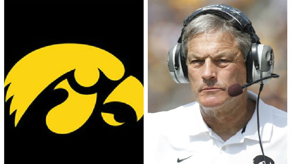 Iowa's spring game is Saturday, April 25, 2015.