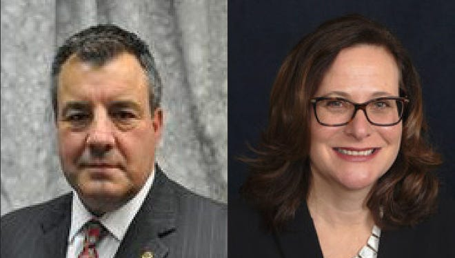 Candidates James Hosfelt, Jr. and Andrea Kreiner for the 2nd District Kent County Levy Court seat.